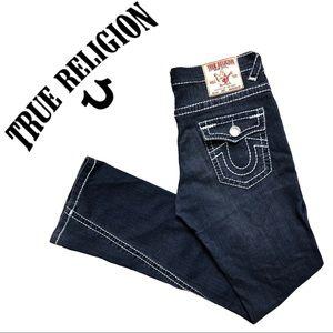 True Religion Jeans Joey Style Blue Flap Pockets